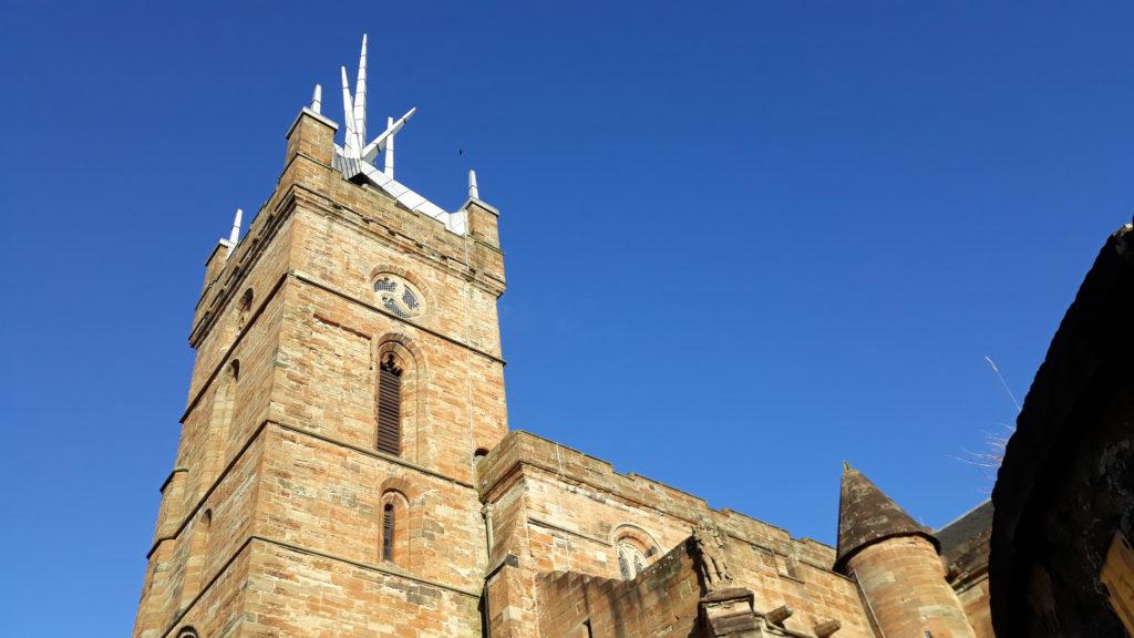 место рождения марии стюарт, шотландия, эдинбург, замки средневековья