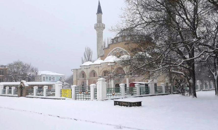 Видеозарисовка Евпатория зимой